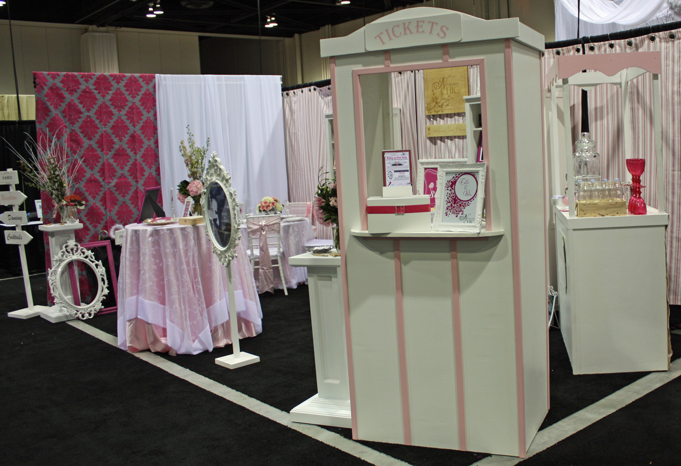 Wedding Planner Bridal Show Booth Ideas : Pin wedding planner bridal show booth ideas on