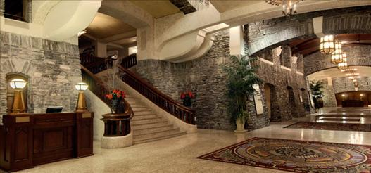 Banff Springs Grand Lobby courtesy of Banff Springs