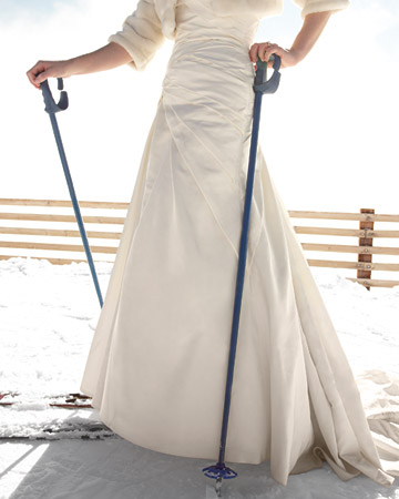 ski-themewinter-wedding
