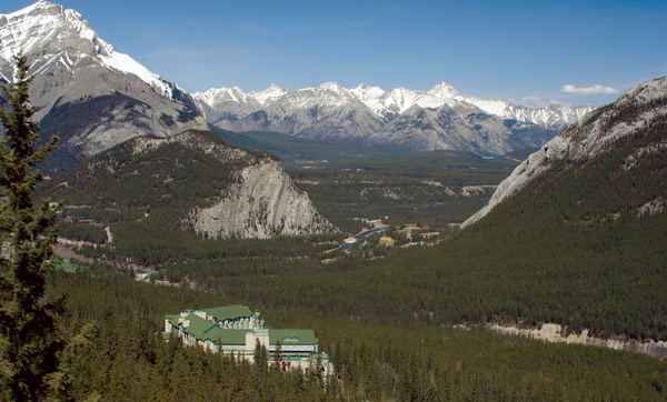 Rimrock resort in Banff