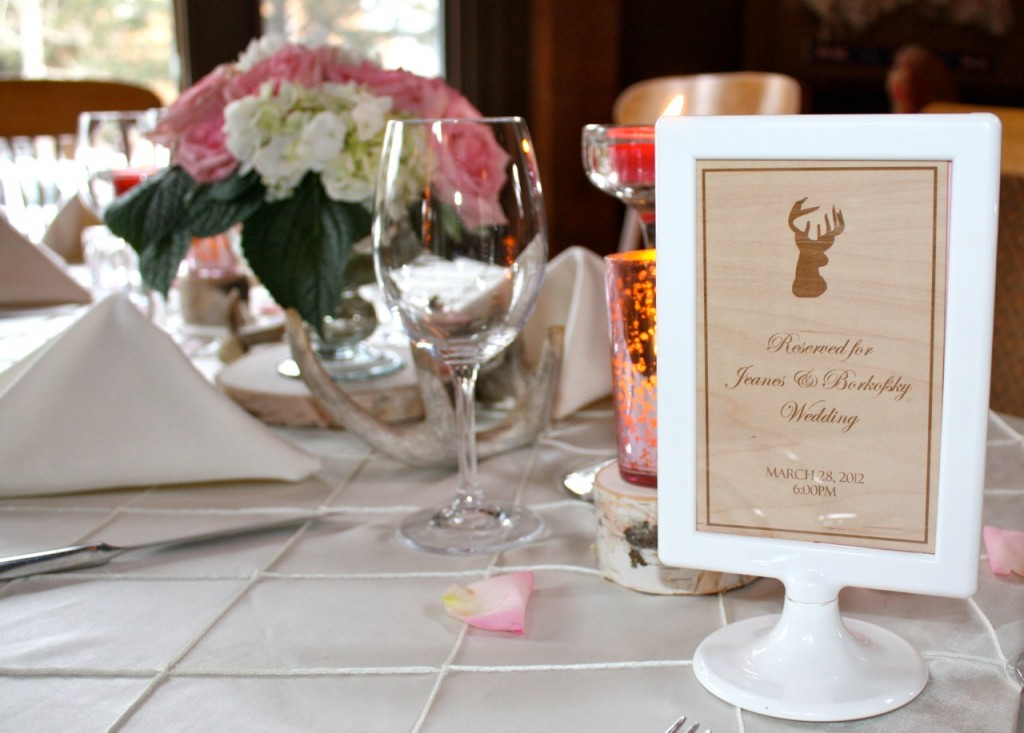 Deer Themed Wedding Decor Archives Banff And Canmore Wedding Planner