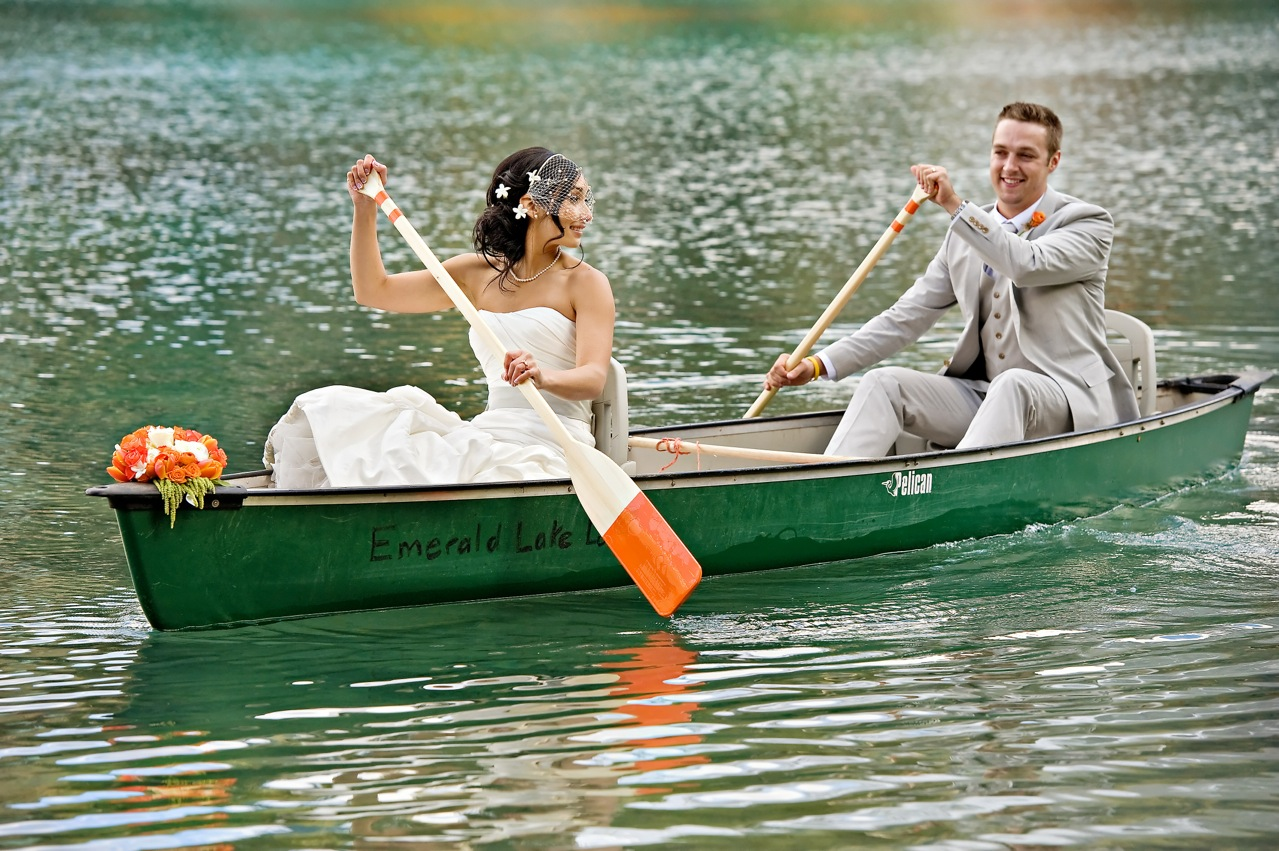 Emerald Lake wedding from Naturally Chic | www. naturallychic.ca | Photo by Orange Girl Photographs