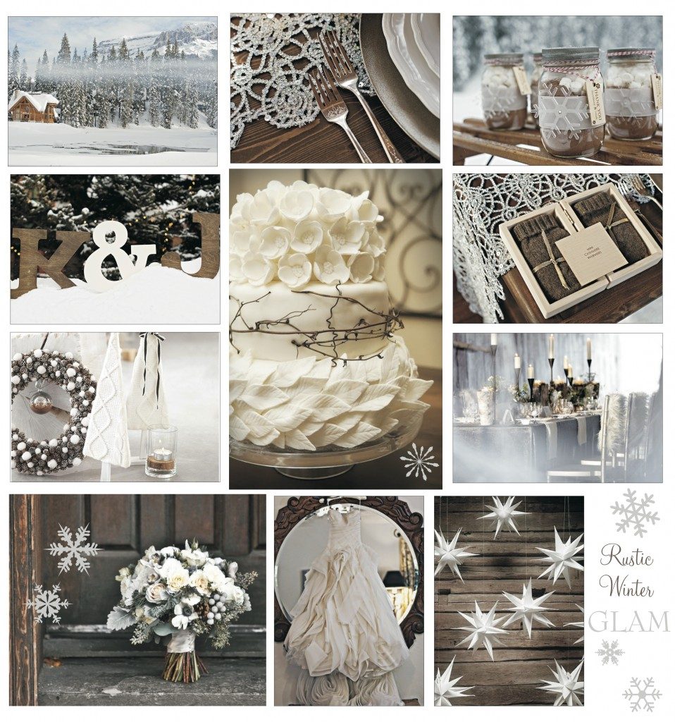 Rustic winter wedding inspiration from Naturally Chic | www.naturallychic.ca