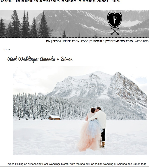 Fairmont-Chateua-Lake-louise-winter-wedding