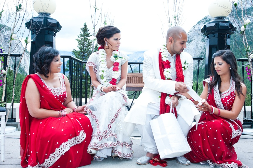 Cultural-wedding-ceremony-Fairmont-Banff-Springs-terrace
