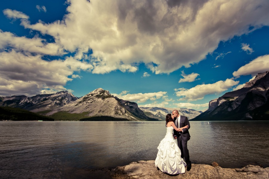 Banff wedding from Naturally Chic |www.naturallychic.ca | photo by Yeuko Images