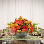 "Hip and Colorful ""Mad Men"" Inspired Table Design"