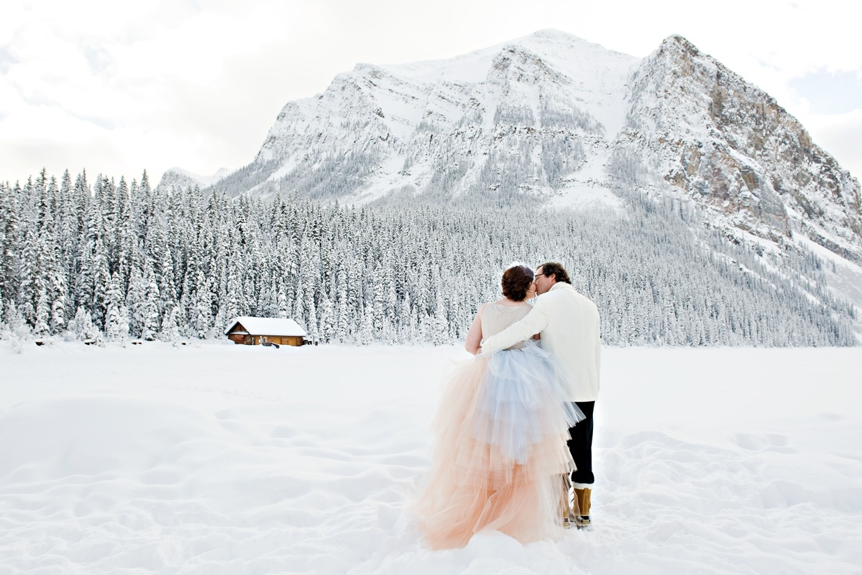 Whimsical Lake Louise Wedding by Naturally Chic | www.naturallychic.ca|Photo by Orange Girl Photographs