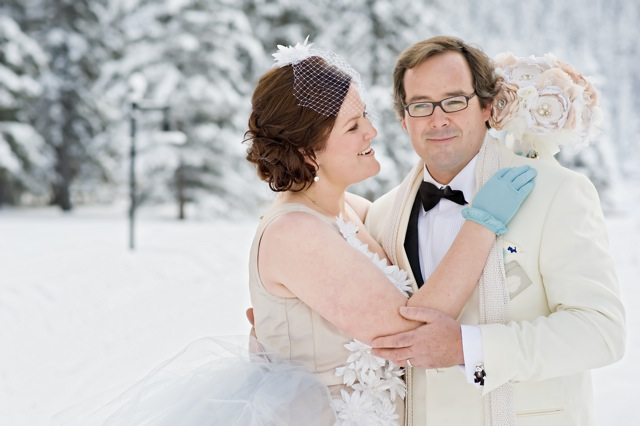 Lake Louise winter wedding by Naturally Chic | www.naturallychic.ca | Photo by Orange Girl Photographs