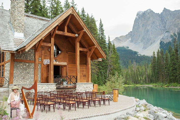 Emerald Lake Lodge wedding by Naturally Chic | www.naturallychic.ca | Photo by Jesse Hisco Fine Art Photography