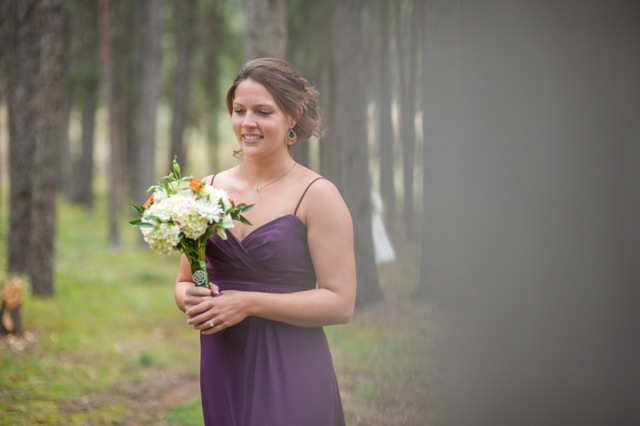 Canmore woodland wedding from Naturally Chic | www.naturallychic.ca | photo by Jesse Hisco Fine Art Photography