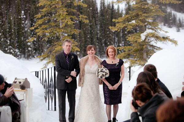 Winter wedding at Emerald Lake Lodge by Naturally Chic | www.naturallychic.ca | photo by Julie Williams Photography