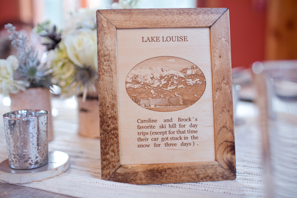 Winter wedding at Emerald Lake Lodge from Naturally Chic | www.naturallychic.ca | Photo by Julie Williams Photography