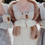 Caroline + Brock's Whimisical Winter Wedding at Emerald Lake Lodge