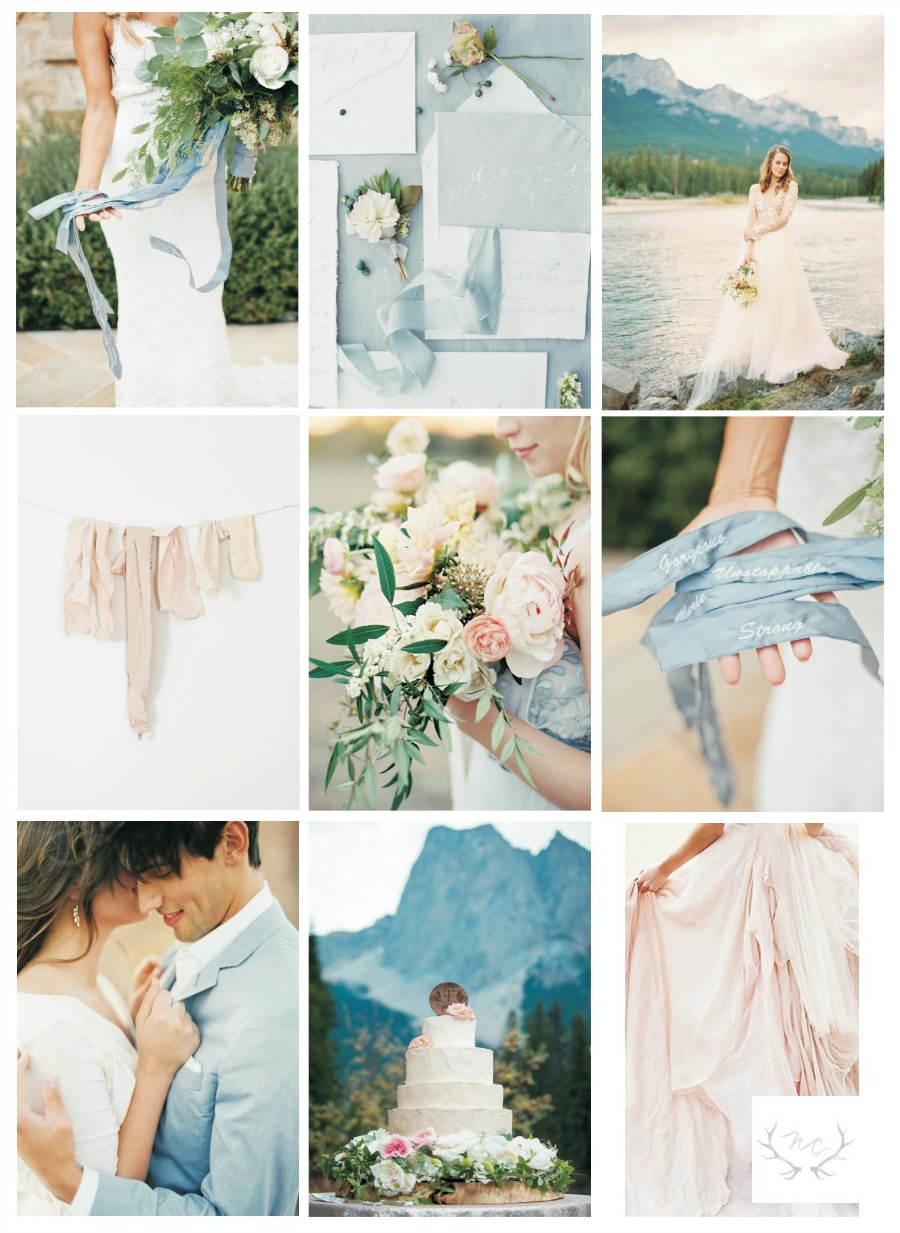 Using Pantone 2016 Colors in your wedding | via Naturally Chic