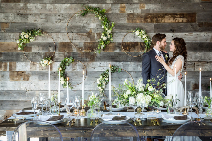 Canadian Rocky Mountain Wedding from Naturally Chic | Photo by Kim Payant Photography
