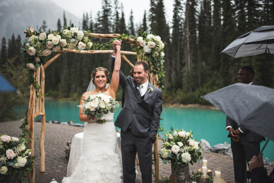 Emerald Lake Wedding from Naturally Chic Weddings | Photo by Carey Nash Photography