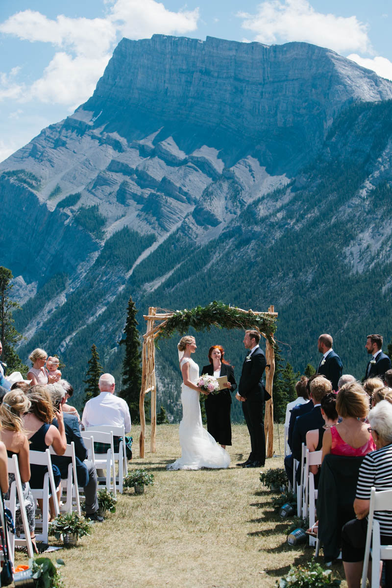 Banff wedding from Naturally Chic | Photo by Crispin Cannon Photography