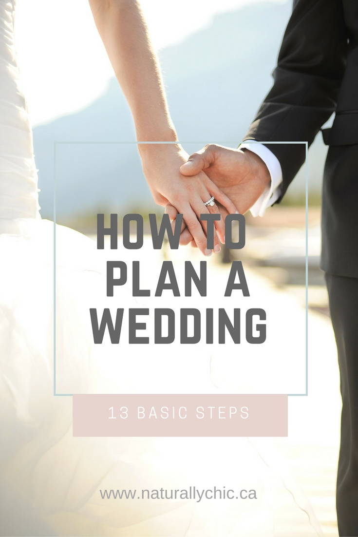 Banff wedding planner Naturally chic shares tips on how to plan a wedding