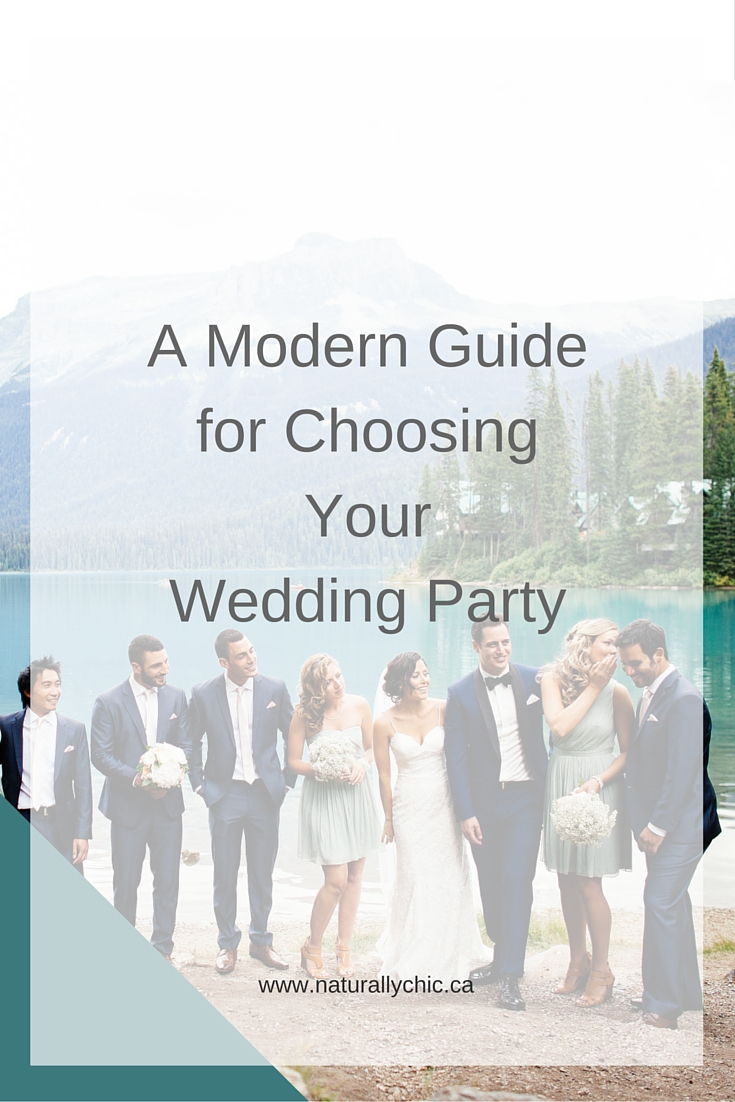 Banff wedding planner, Naturally Chic, shares 8 tips for choosing your wedding party | www.naturallychic.ca | Photo Credit : Kim payant Photography